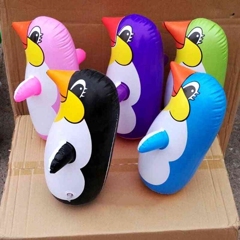 Inflatable Penguin Balloon Toy