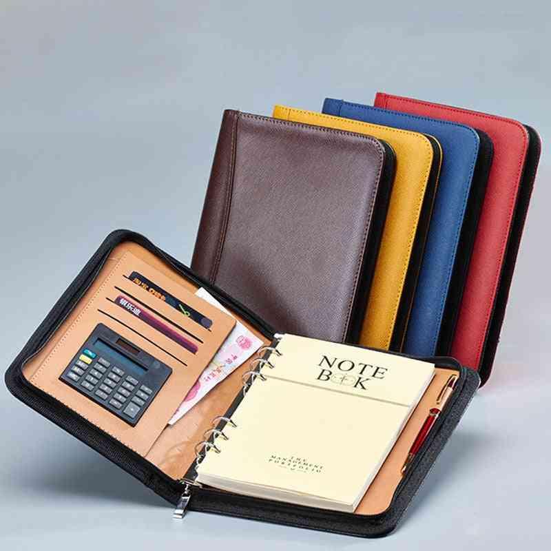 Notebook And Journal Calculator Binder, Spiral Note Book, Bag