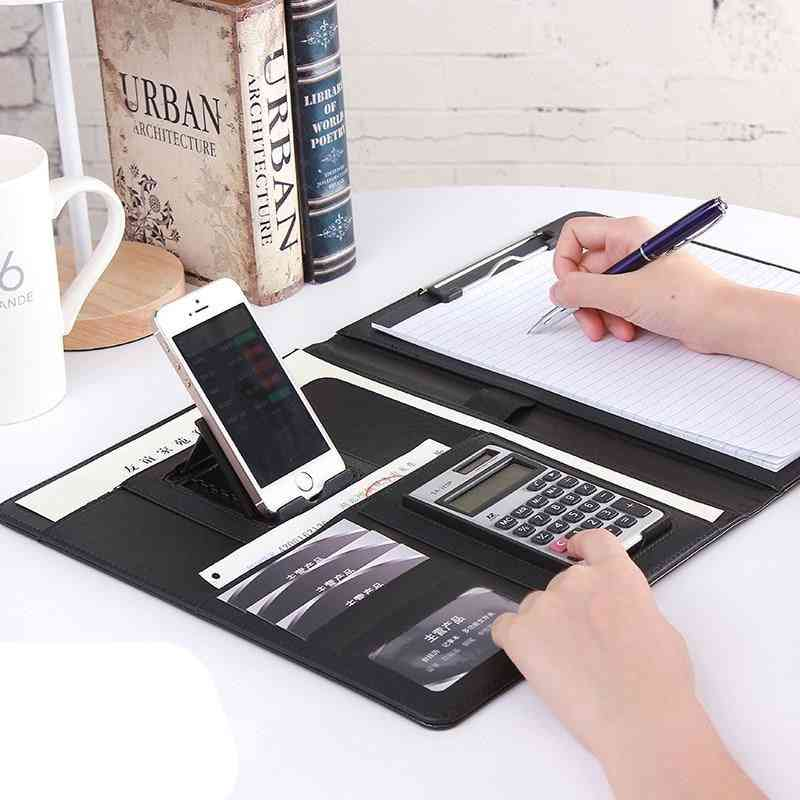 Multi-function Office Organizer, Planner, Notebook For Documents