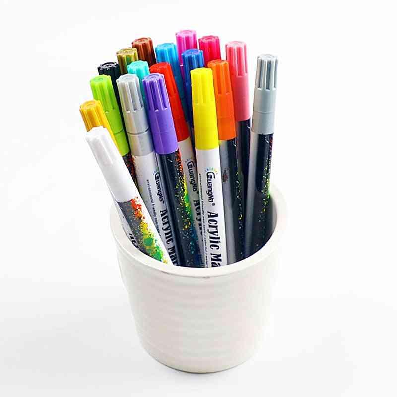 Acrylic Paint Marker -pen For Ceramic Rock Glass Porcelain Mug