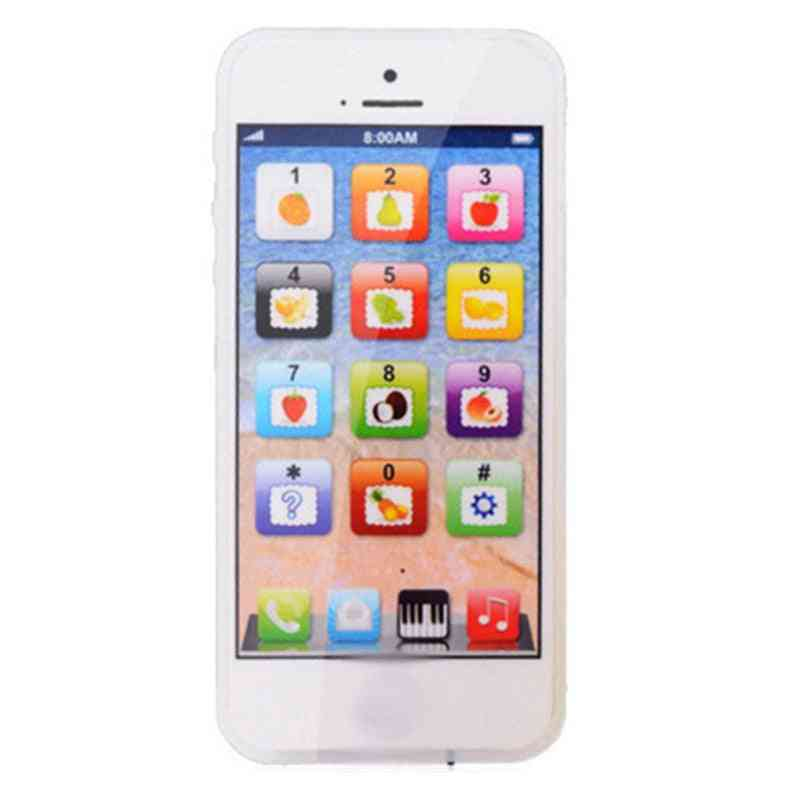 Baby Simulation Mobile Phone Toy, Kid English Learning Educational Tools