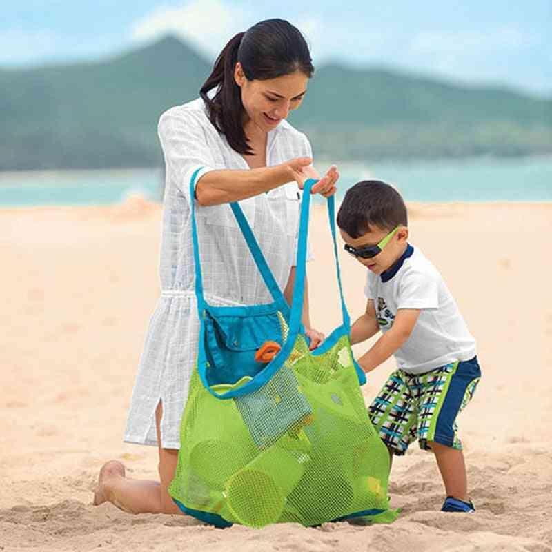 Large Folding Net Bag, Handbag Outdoor Beach Tool