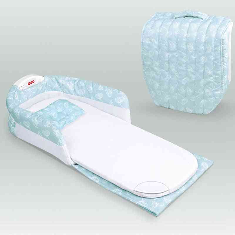 Separated Bed With Light Music, Multi-function, Help Bb Sleep Bag
