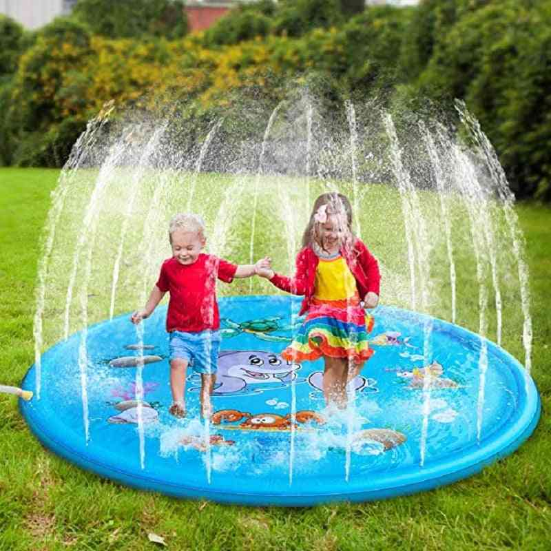 Water Spray Cushion Mat- Game Toy Lawn For