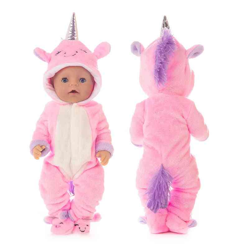 One Piece Suit For New Born Baby Doll-fit For 17inch/43cm