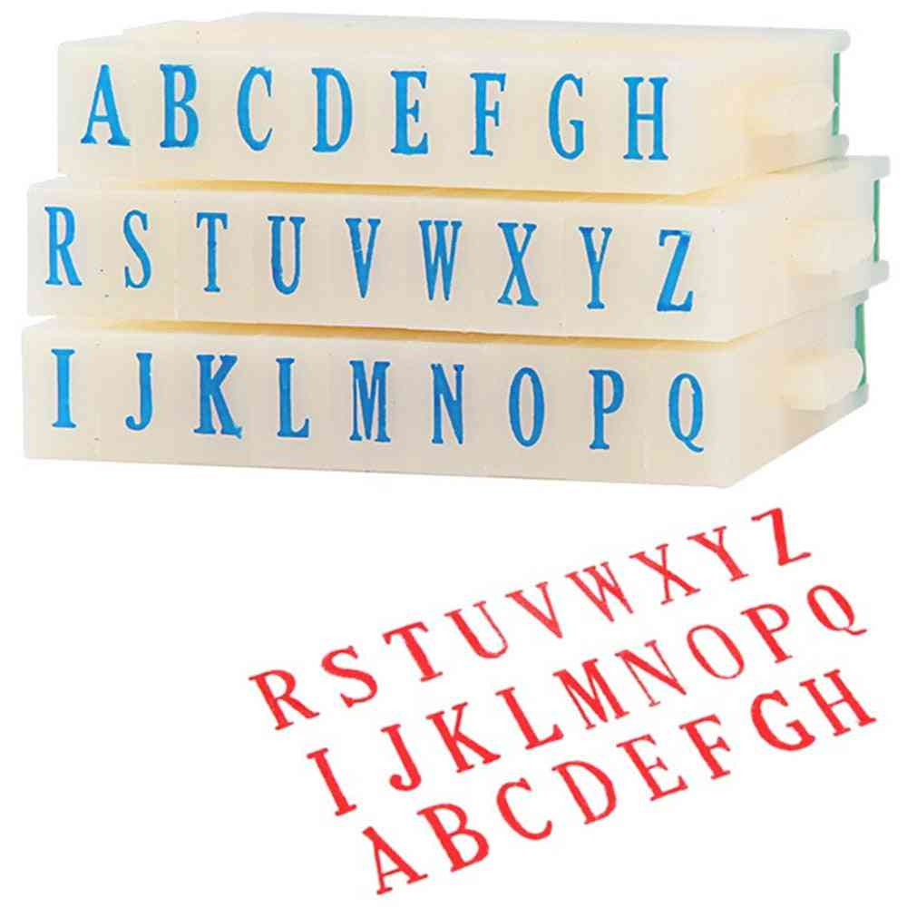 26 Letters Alphabet Painting Drawing Craft Diy Stamps