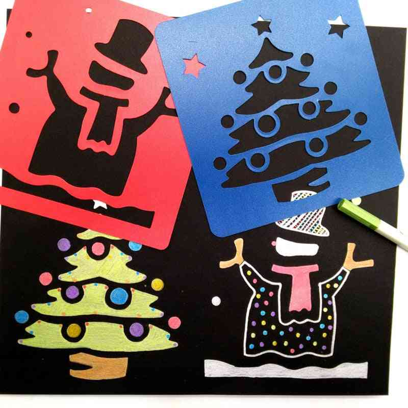 Painting Template Stamps, Scrapbooking Craft Diy Cartoon Stamper
