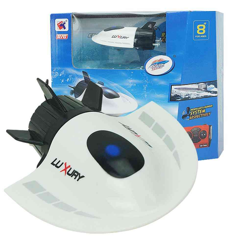 Radio Rc Submarine Racing Toy, Waterproof Mini Electric Remote Control