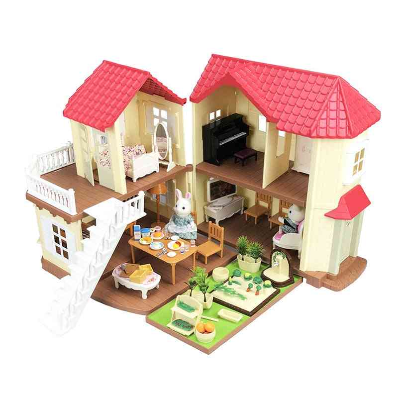 Doll House Forest Lodge Villa -collocation Home, Set