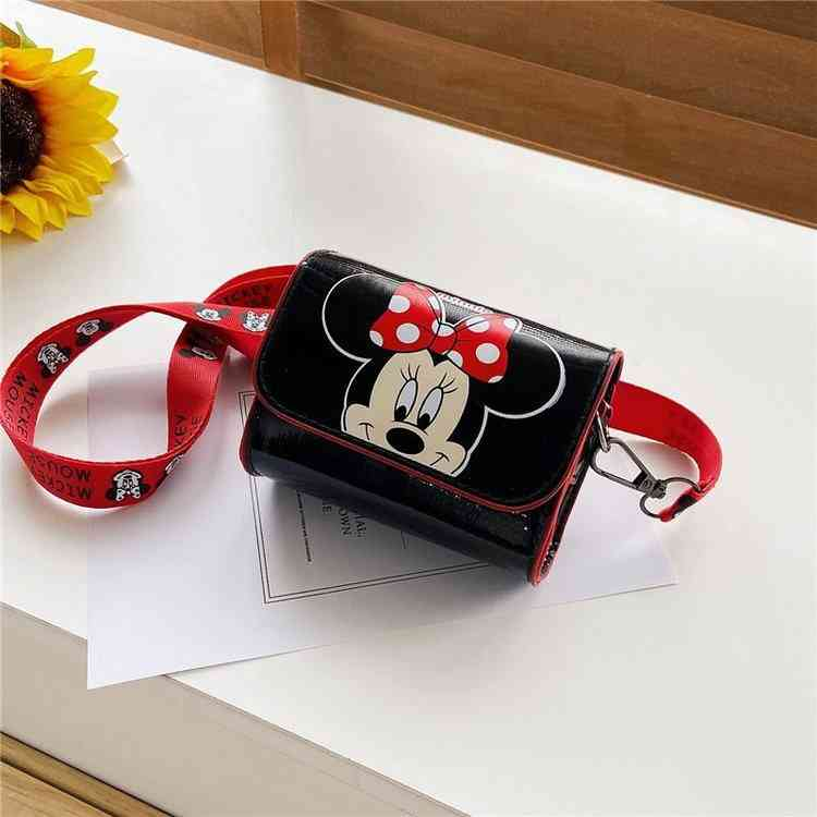 Minie/mickey Mouse Printed Messenger Bag