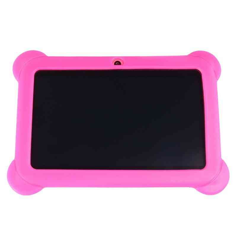 7 Inch, 1024*600 Resolution-kid's Learning Tablet With Wifi And Dual Camera