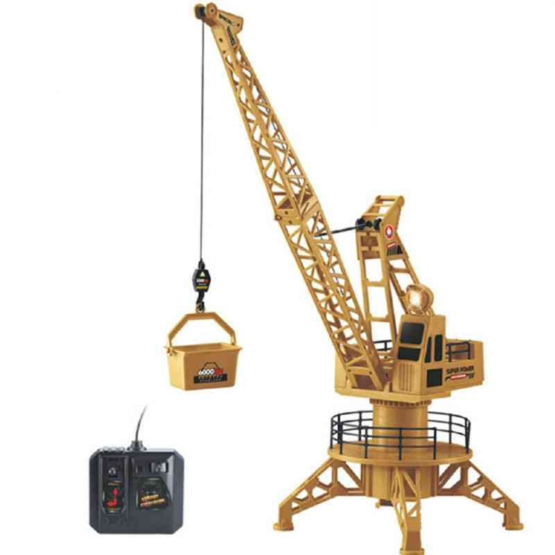 Strong Remote Control, Plastic Engineering Crane Toy