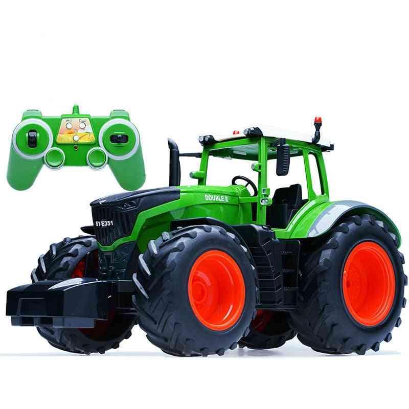 Remote Control Farmer Tractor, Trailer Dump Harvest-model For