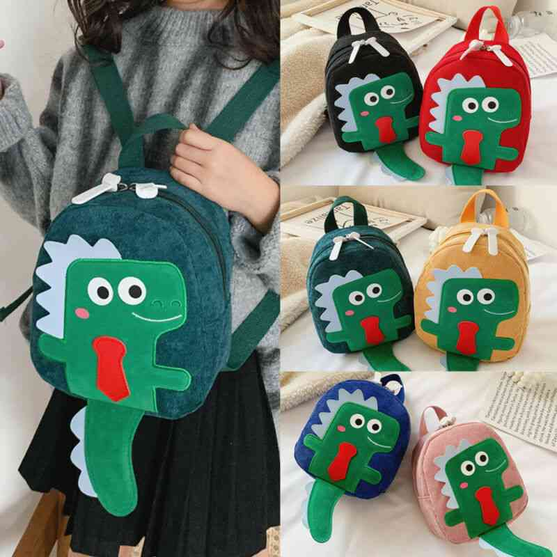 Infant Baby & Cute Dinosaur Backpack, Shoulder Preschool Bag