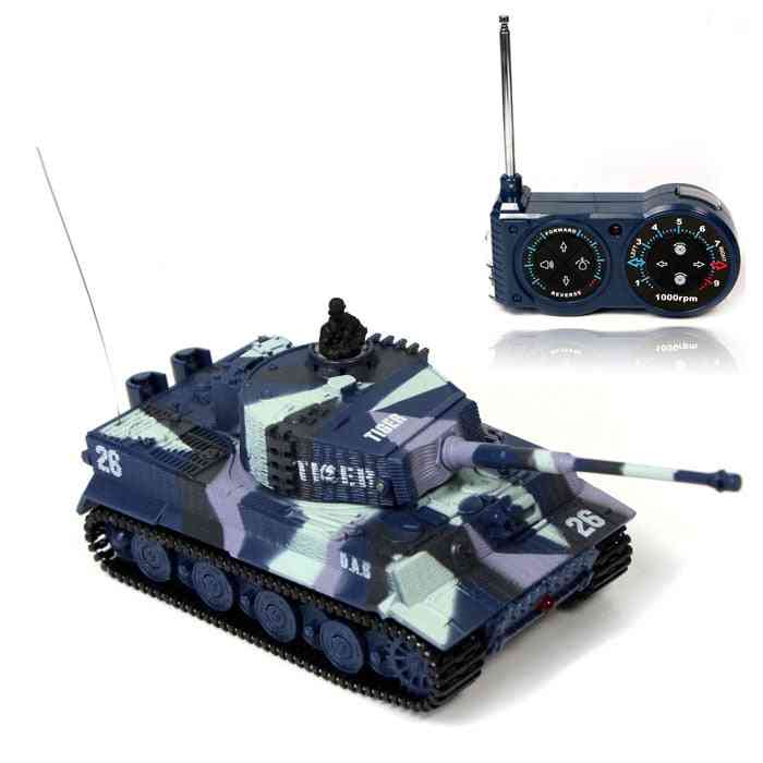 Rc Tiger Tank, 14 Ch 1:72 Remote Control Simulated Panzer