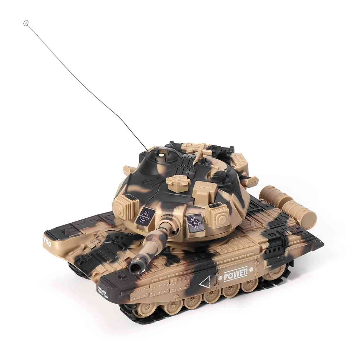 1:32 Military Remote Control War Tank With Shoot Bullets-electronic