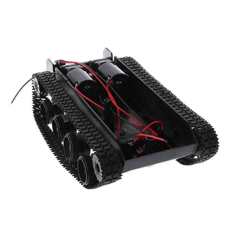 Diy Remote Control Tank Robot Chassis