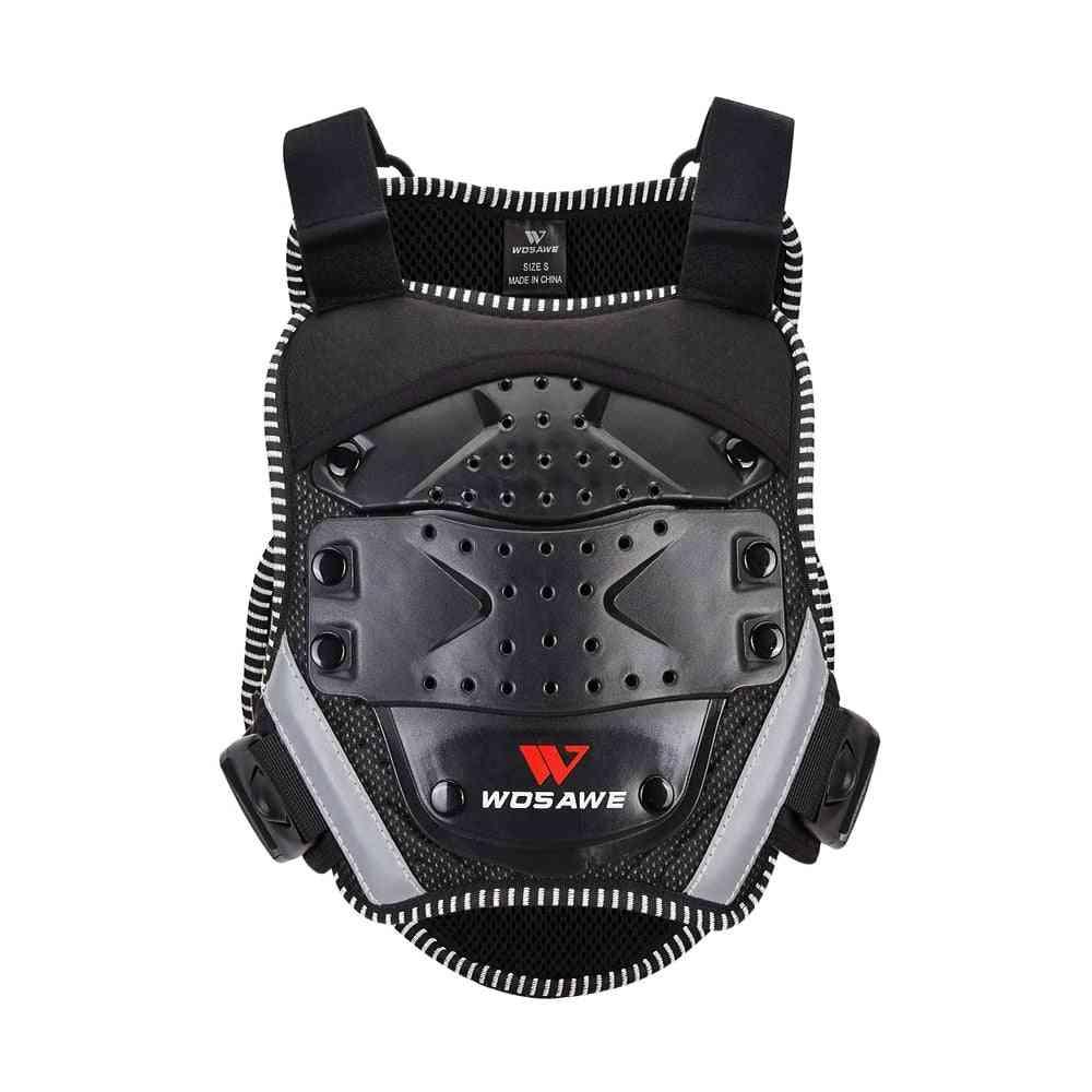 Kid's Motorcycle Body Armor-back/shoulder Protector Gear