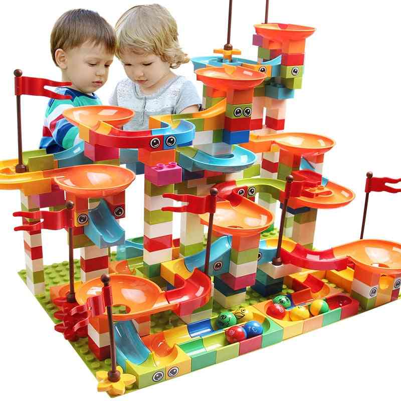 Marble Race Track-building Blocks For