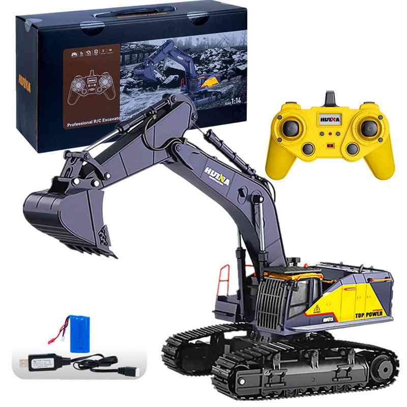 Big Size Remote Control Alloy Excavator- 22ch Vehicle Toy