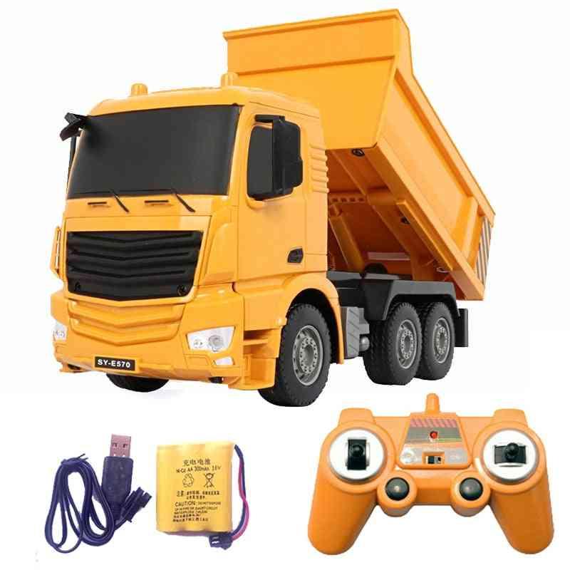 2.4g Rc Cars Dump Truck For Boy