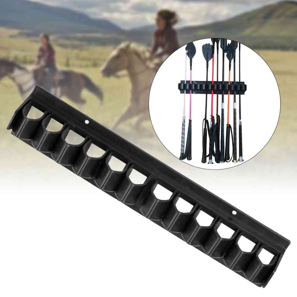 Whip Rack Crop Holder, Horse Stables Accessories