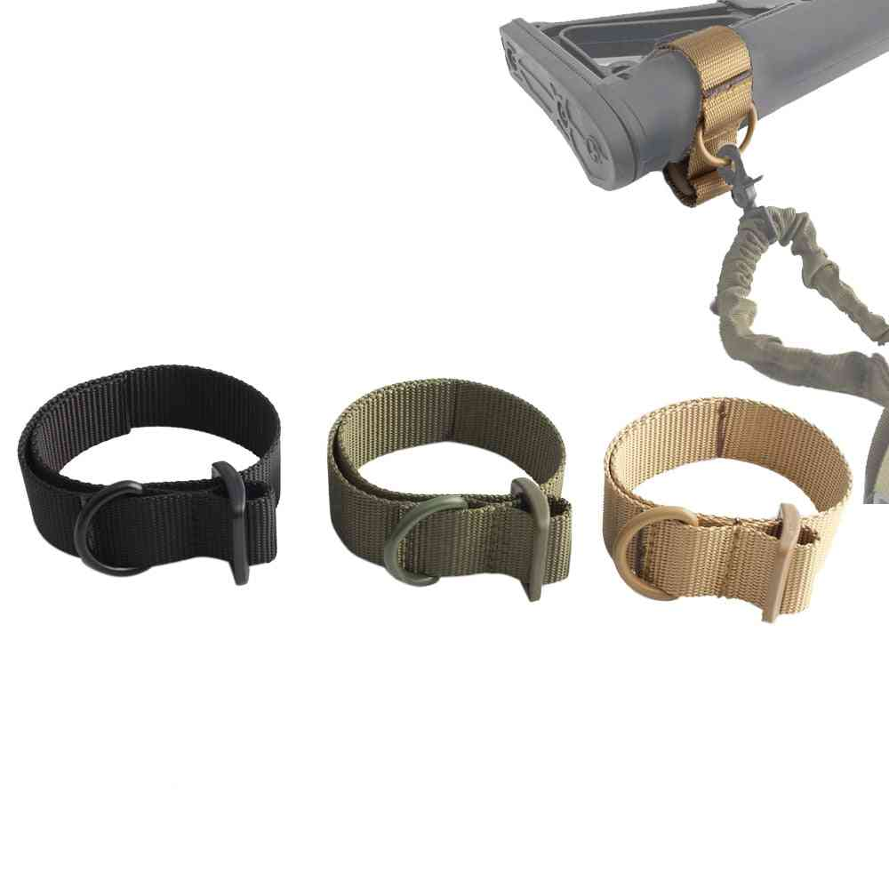D-shaped Military Airsoft Sling Adapter Belt