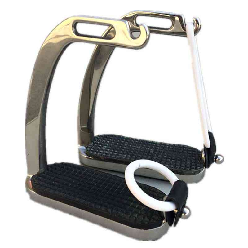 Stainless Steel Horse Stirrup With Rubber Ring