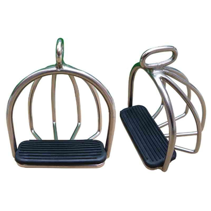 Horse Riding Stirrup With Rubber Pad