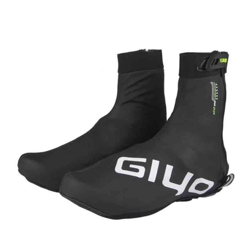 Waterproof Cycling Bicycle Shoes Covers, Winter Fleece Warm Bike Lock Protector