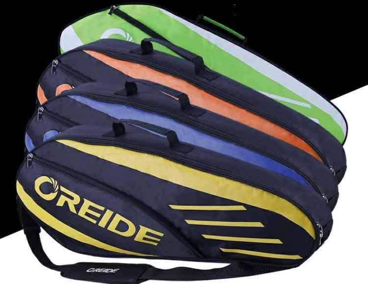 Waterproof Badminton Bag, Racket Tennis Backpack