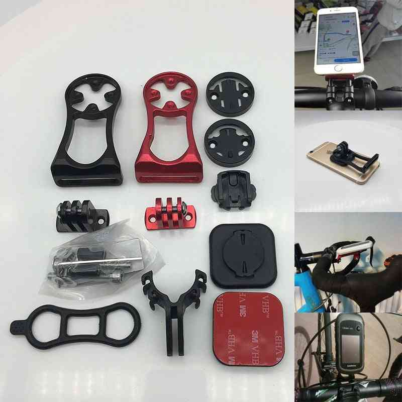 Bike Out Front Mount Holder -set For Phone Garmin Bryton Cateye