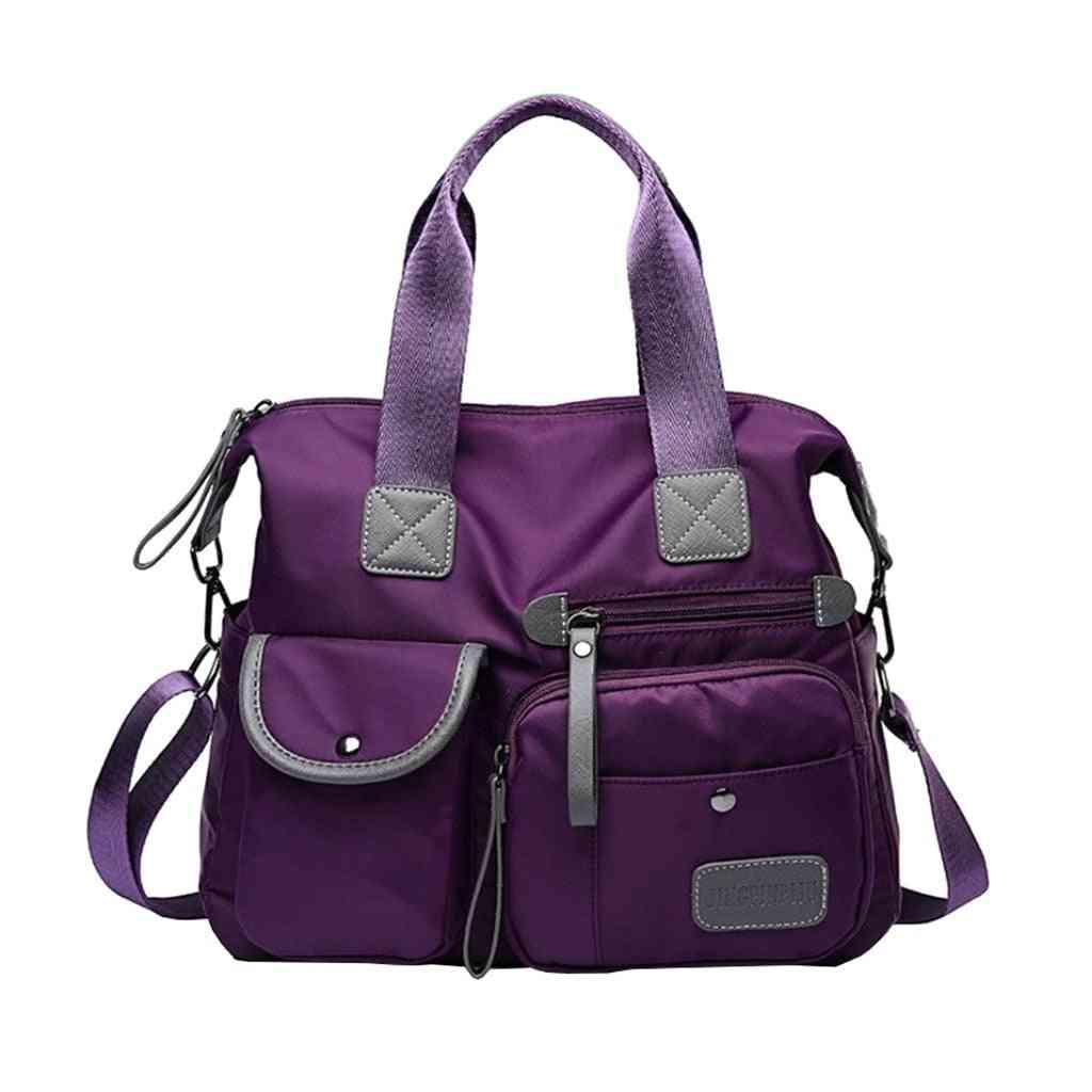 Nylon Waterproof Shoulder Bag For Women