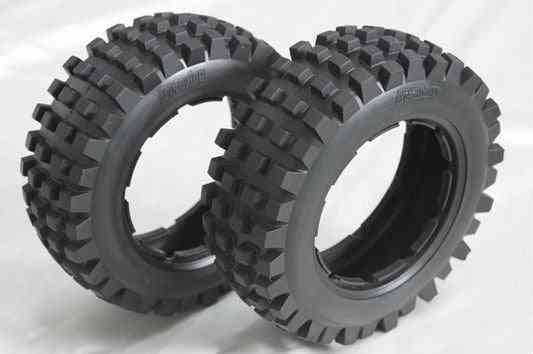 1/5 Baja 5b Rear Knobby Off Road Tires - Toy Accessories