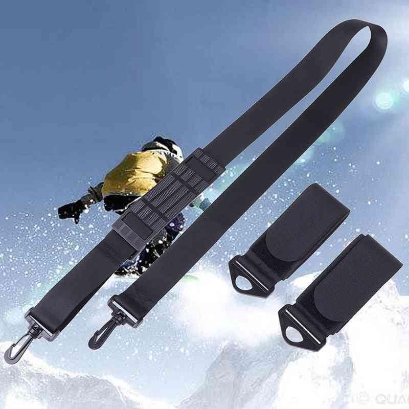 Hand Held Skiing Strap, Adjustable Snowboard