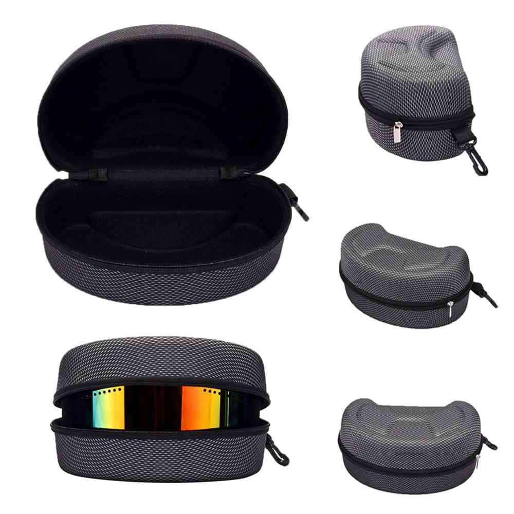 Wide Storage Case For Sunglasses With Portable Carbiner