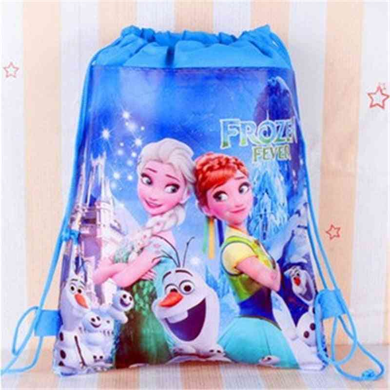 Disney Princess Frozen Elsa Printed, Drawstring Bag