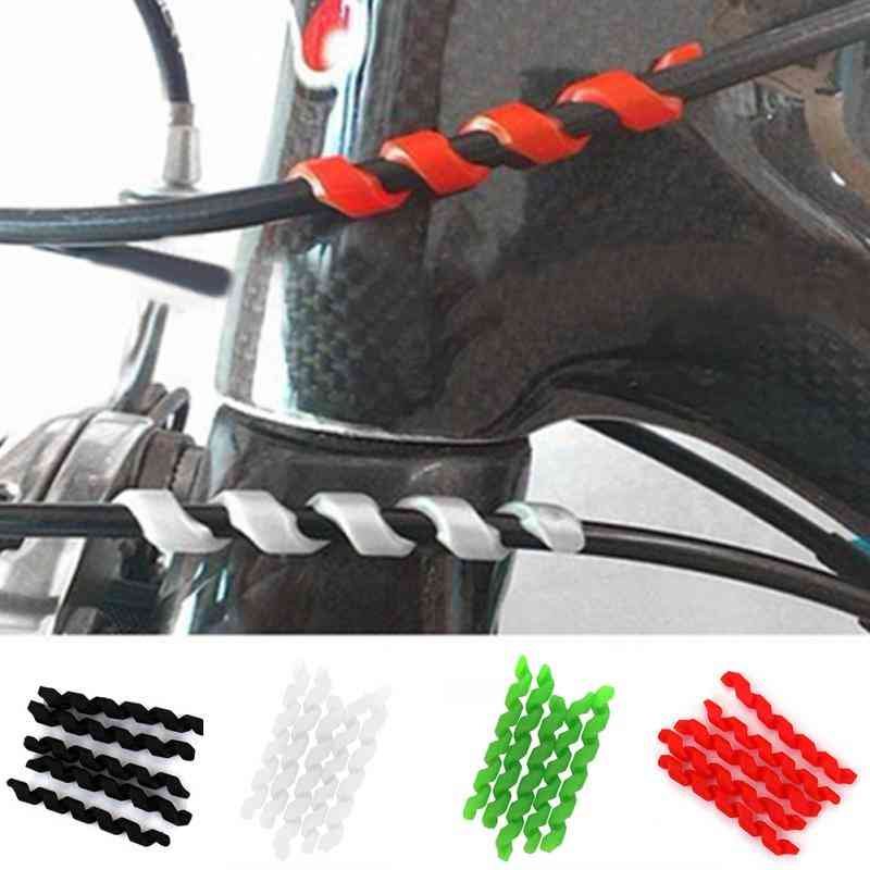 Bicycle Brake Cable Protectors, Anti-friction Housing Rubber Protector Frame Cycling Wrap Guard Tubes