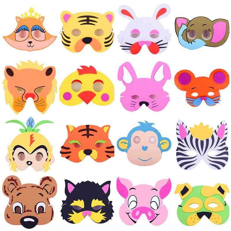 Cute Eva Foam Animal Mask, Cartoon Hats