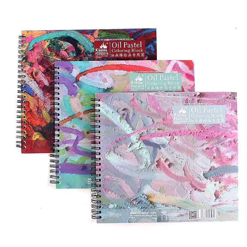 20 Sheets Books Oil Pastel Special Paper