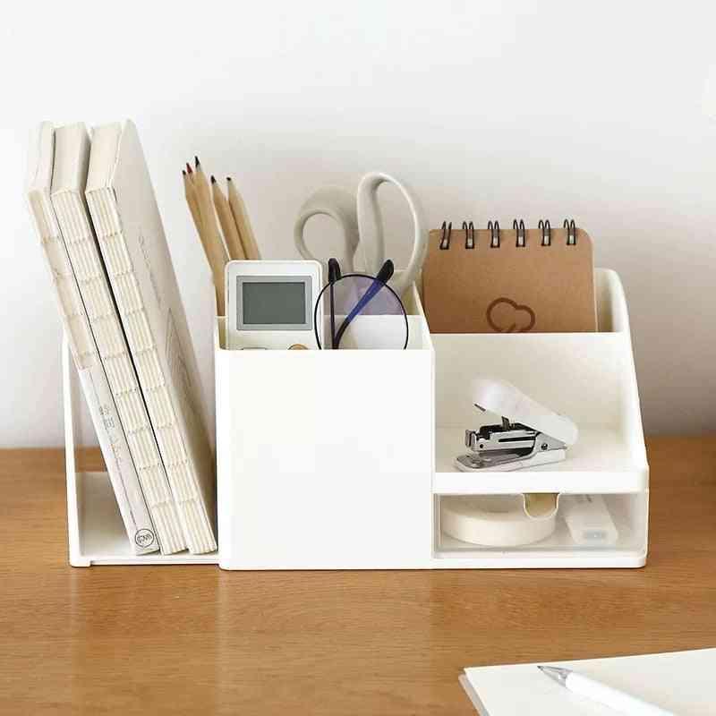 Desk Storage Holder Box