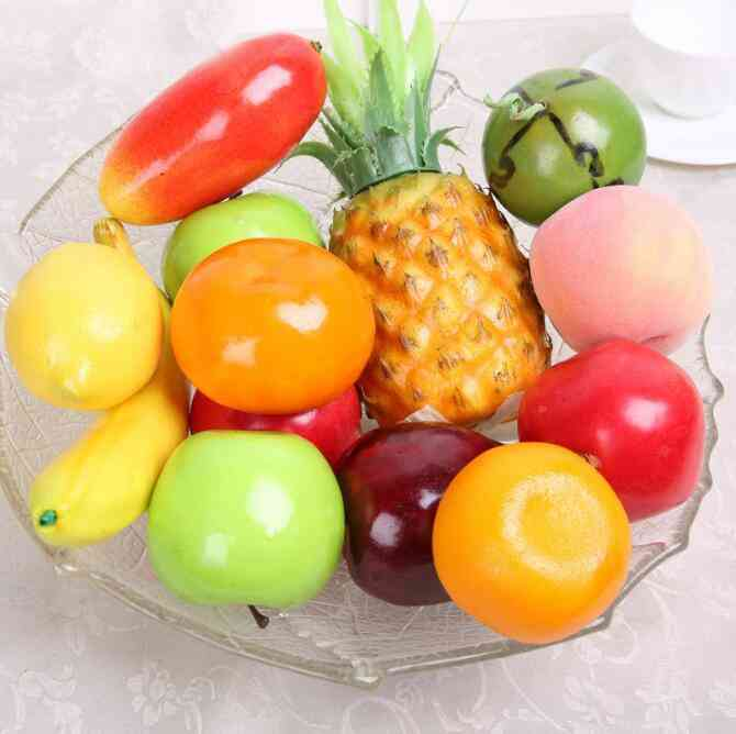 Mini Simulation Foam Fruit And Vegetables For