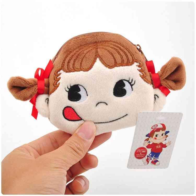 Milk Girl Cartoon Shape Mini Purse