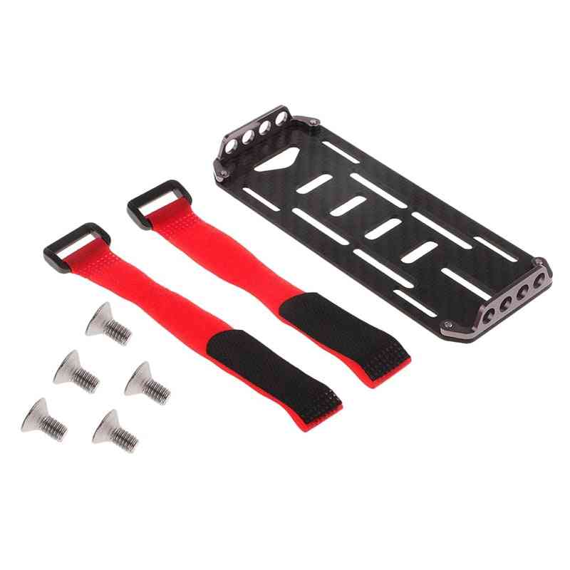 Battery Mounting Plate Tray, Strap And Screws For Crawler Car Toy