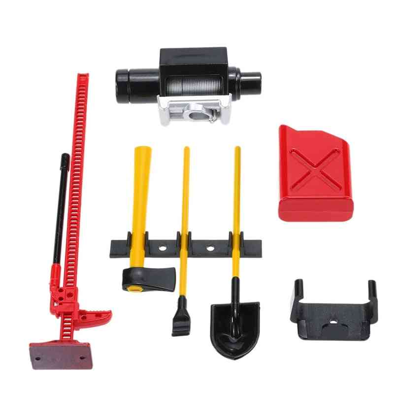 Set Of Tools And Decoration For Remote Control Cars-spare Parts