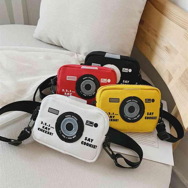 Camera Shape, Kids Messenger Bags