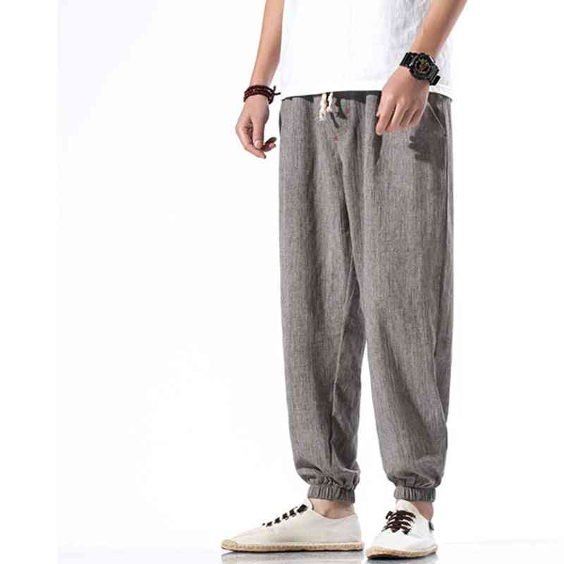 Men's Casual Harem-summer Loose Sports Pants