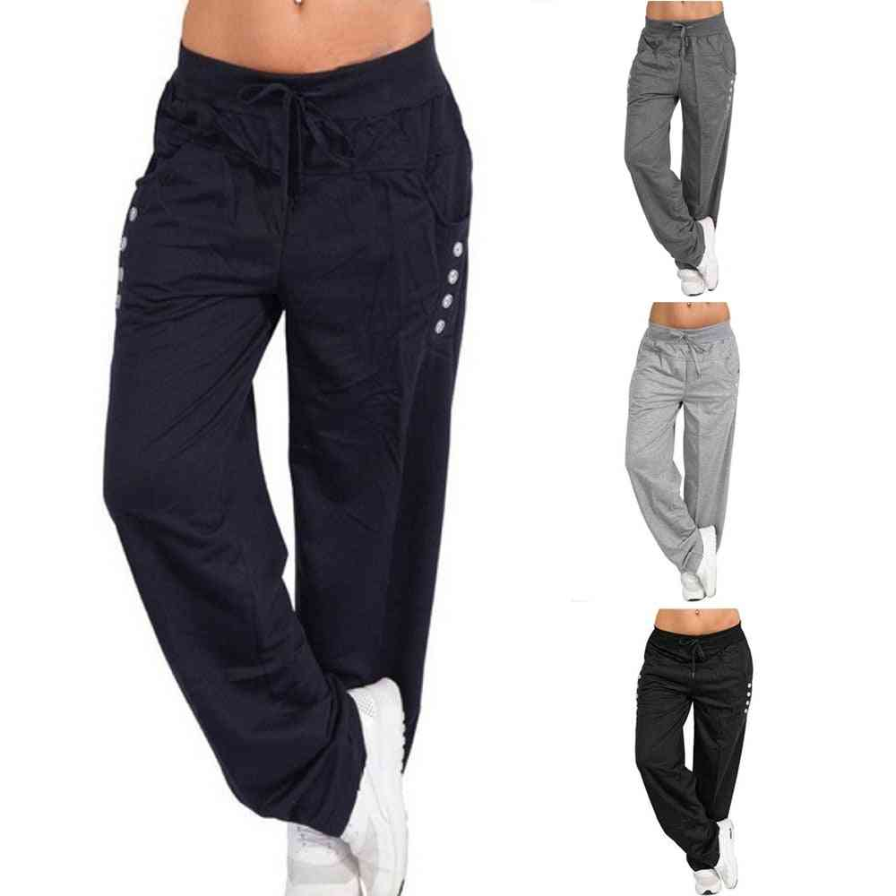 Loose Sportswear Trousers With Drawstring