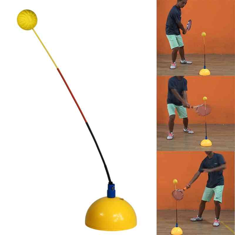 Portable Tennis Practice, Professional Stereotype Swing Ball Machine For Beginners