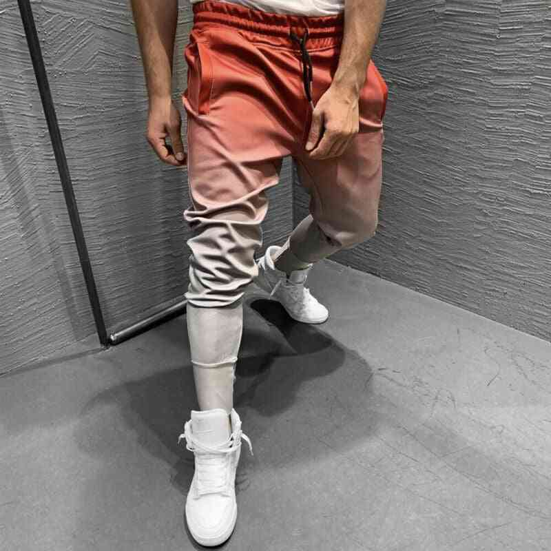 Long Elastic Waist Sweatpants, Joggers Sports Skateboarding Trousers